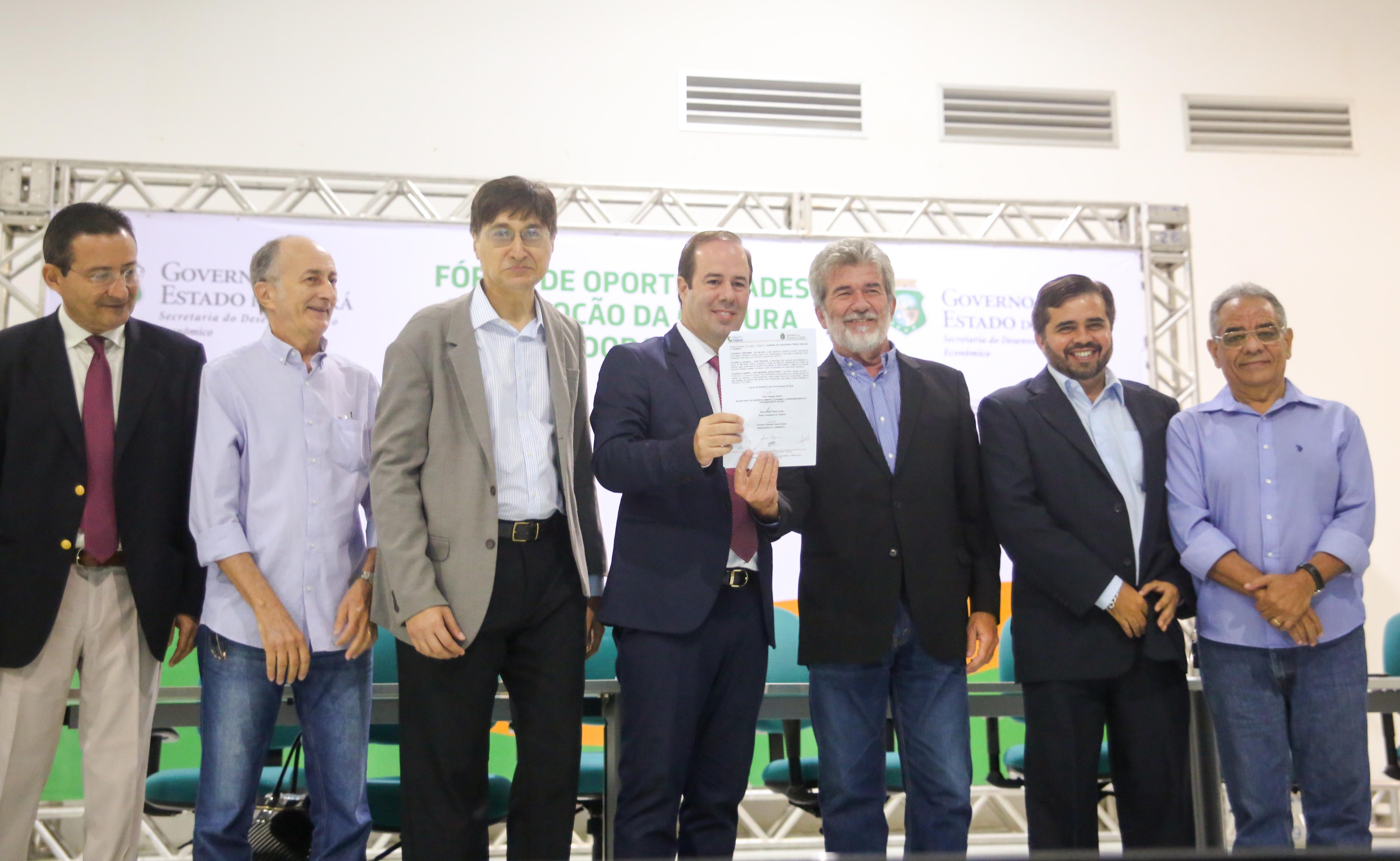 Governo do Ceará assina termo para requalificação do Distrito Industrial do Cariri