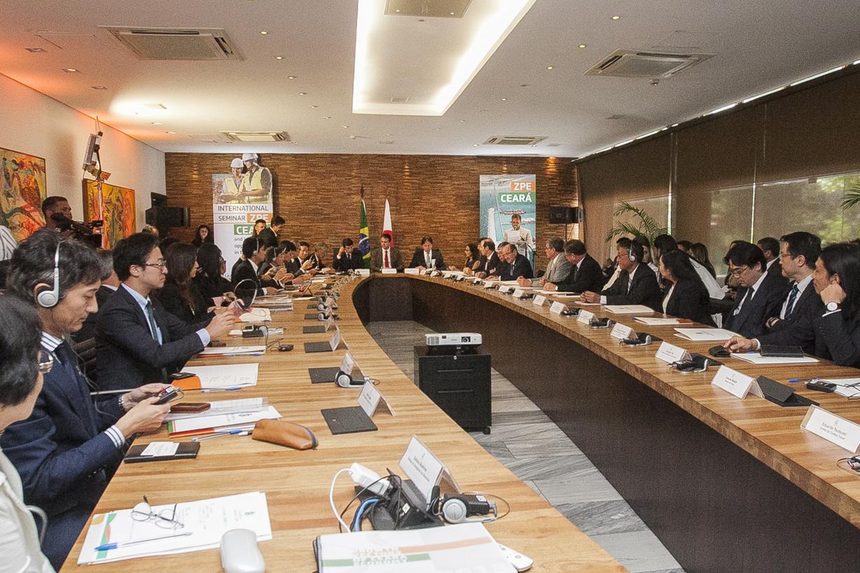 Empresários japoneses conhecem oportunidades de investimentos no Ceará
