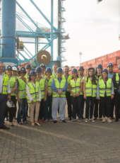 Grupo de empresas francesas e holandesas no Brasil visitam o CIPP