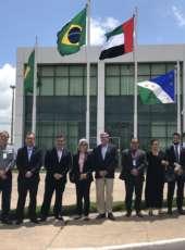 Comitiva da Embaixada dos Emirados Árabes conhece estrutura do CIPP