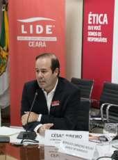 LIDE Ceará realiza Seminário de Desenvolvimento e Competitividade, com Cesar Ribeiro (SDE) e Romildo Carneiro Rolim (BNB)