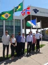 Delegação norueguesa visita o estado para promover e estreitar as relações