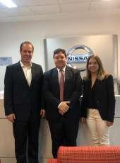 Visita à montadora automotiva coloca o Ceará no radar de novos investimentos