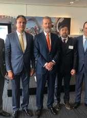 Governador Camilo Santana apresenta o Ceará para empresários europeus